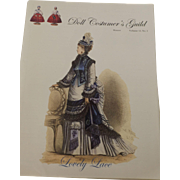 Doll Costumer's Guild Booklet, Lovely Lace w/Patterns