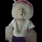 Cloth Artist Doll--An Aging Woman!