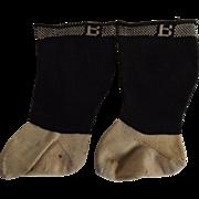 Burson Doll Socks for a Medium to Large Doll