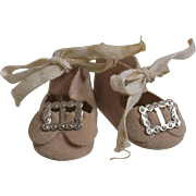 Tiny Vintage Doll Shoes