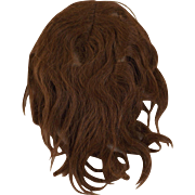 Old Human Hair Wig