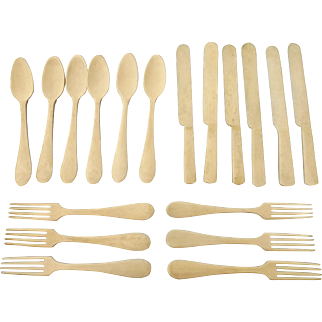 Doll's Cutlery Set, 18 Pieces