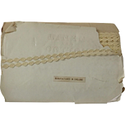 Tiny Trim For Doll Clothes--Linen and Cotton, Original Package