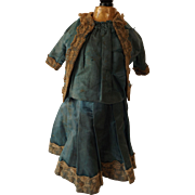 Lovely antique Doll Dress To Use As a Pattern