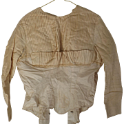 Ladies' Antique Bodice--Use For Doll Clothes