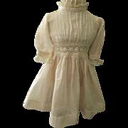 Vintage Dimity Doll Dress