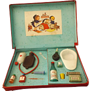 Vintage Nurse/Doctor Play Set, Original Box, German