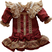 Sweet Dress for a Small Doll