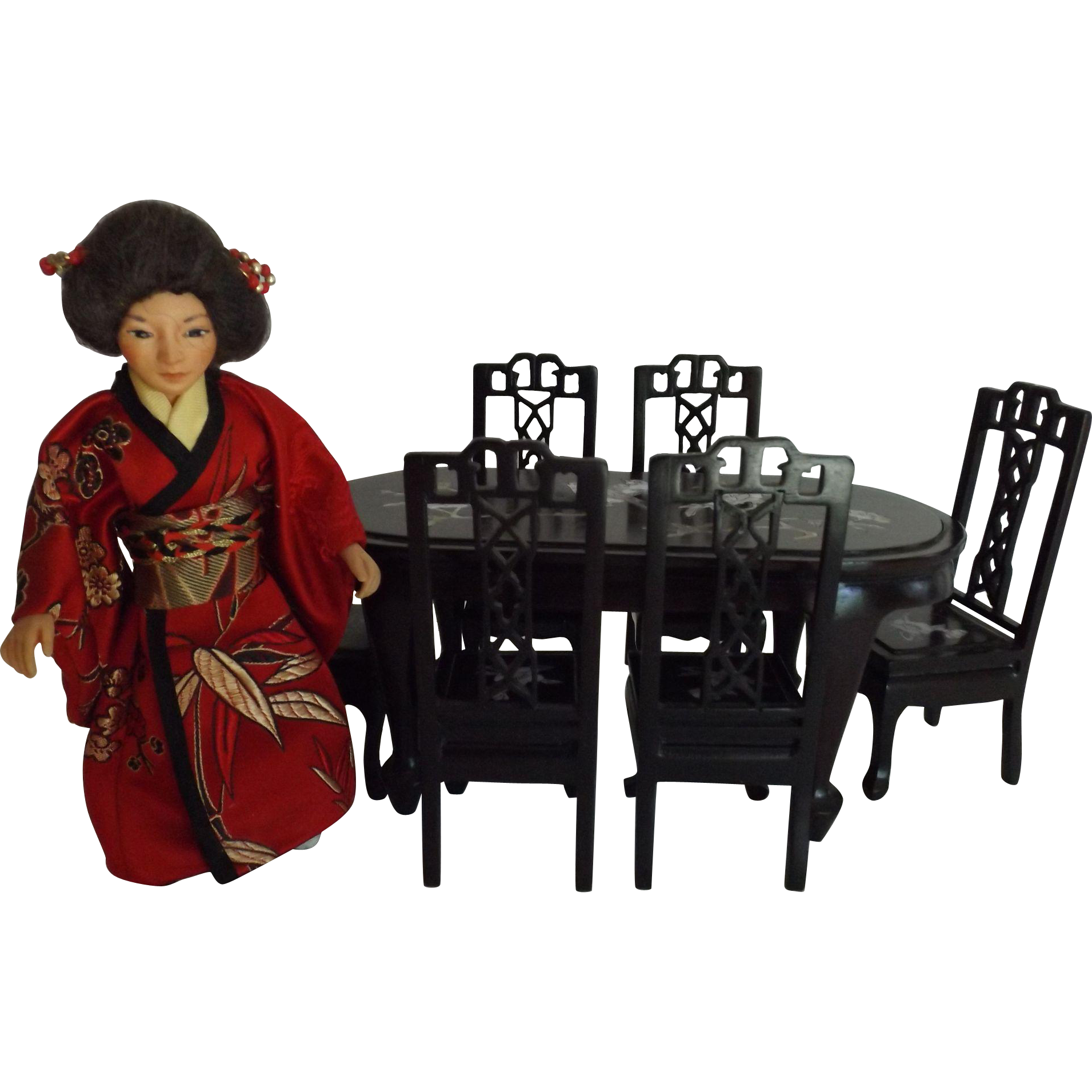 asian doll house doll and asian dining room set 112 scale asian dining room sets 1