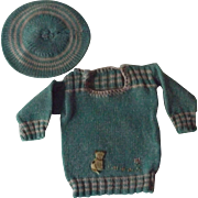 Vintage Doll Sweater and Tam