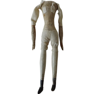 Small Milliner's Model Body For Parts