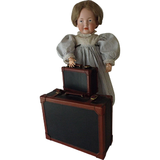 Vintage Set of Doll Suitcases