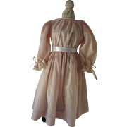 Pretty Vintage dress for a Bisque doll or China Doll