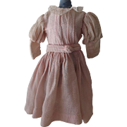 Vintage Pink Doll Dress
