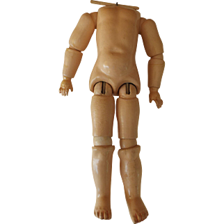 """10"""" Ball Jointed Composition Doll Body"""