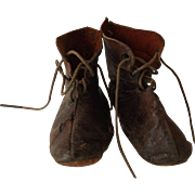 Brown Leather Shoes for any Early doll