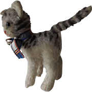 Very Cute standing Steiff Cat - Red Tag Sale Item