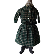 Cute Old Two Piece Wool Doll's Suit