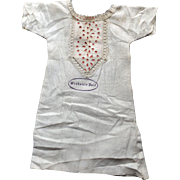 "Original Chemise for a ""Washable Doll"""