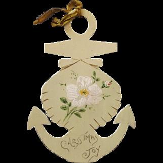 Vintage Sailor's Christmas Ornament