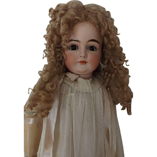 Very Curly Mohair Wig With Extentions, Size 15