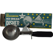 Vintage Ice Cream Disher in Original Box