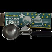 Vintage Ice Cream Disher in Original Box