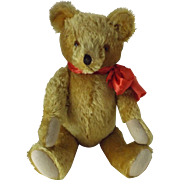 "24"" Vintage Gold Mohair Teddy Bear"