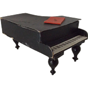 Antique Musical Candy Box Piano