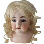 Large Kestner Doll Head, No Hairlines