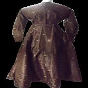 Mid 1800's Hand-Sewn Ladies' Dress