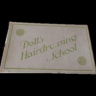 Doll's Hairdressing School, Original Box