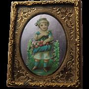 Dollhouse Picture, Ormolu Frame
