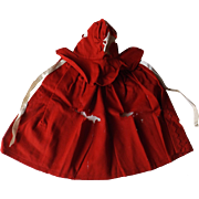 Red Wool Shaker Cape for Pattern - Red Tag Sale Item