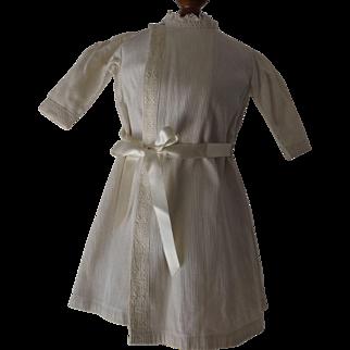 White Cord Doll Dress