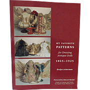 My Favorite Patterns, 1865-1925 by Evelyn Ackerman
