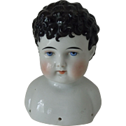 Large Male China Shoulder Head, Good Condition