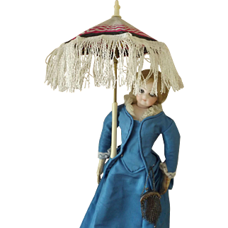 Parasol For An Antique Doll