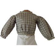 Doll Blouse w/Feather Stitching