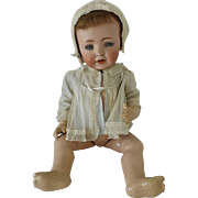 """Life Size Bisque Character Baby, 25"""" tall"""