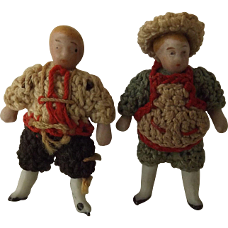 Two Tiny Carl Horn Dolls