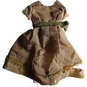 Early Doll Dress--Use As A Pattern