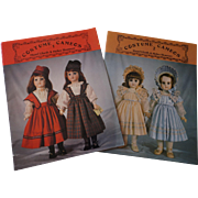 Pattern Books--Costume Cameos #1 and #2