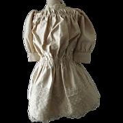 Cute Doll Dress w/Pretty Lace Trim