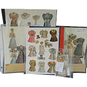 Assorted Vintage and Antique Paper Dolls