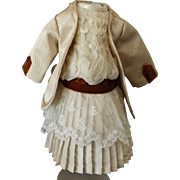 Pretty two piece Dress For a Small Doll