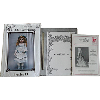 Great Group of Doll Patterns