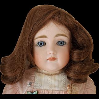 French Human Hair Doll Wig