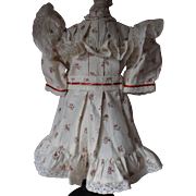 Jumeau Doll Dress by Dollmasters