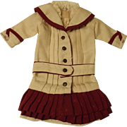 Very Cute Dress For an Antique Doll